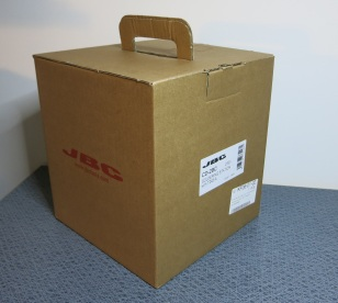 JBC CD-2BC station in nice, sturdy cardboard box
