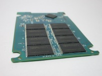 Flash memory ICs, some are partially torn off